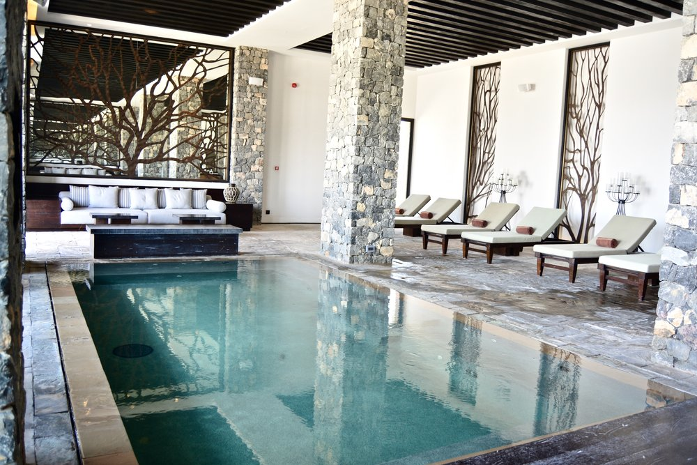 Indoor pool (Alila Jabal Akhdar)