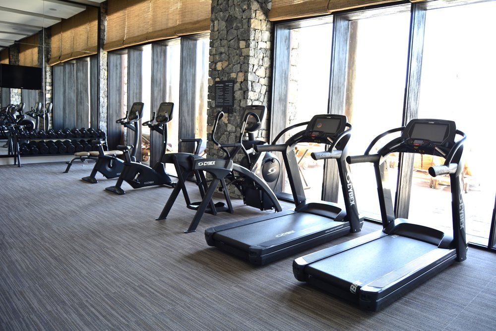 Fitness gym  (Alila Jabal Akhdar)