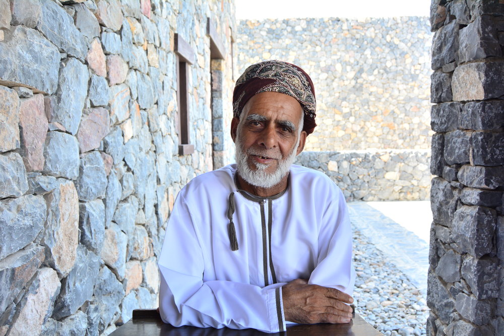 Omani Elderly ( Alila Jabal Akhdar)