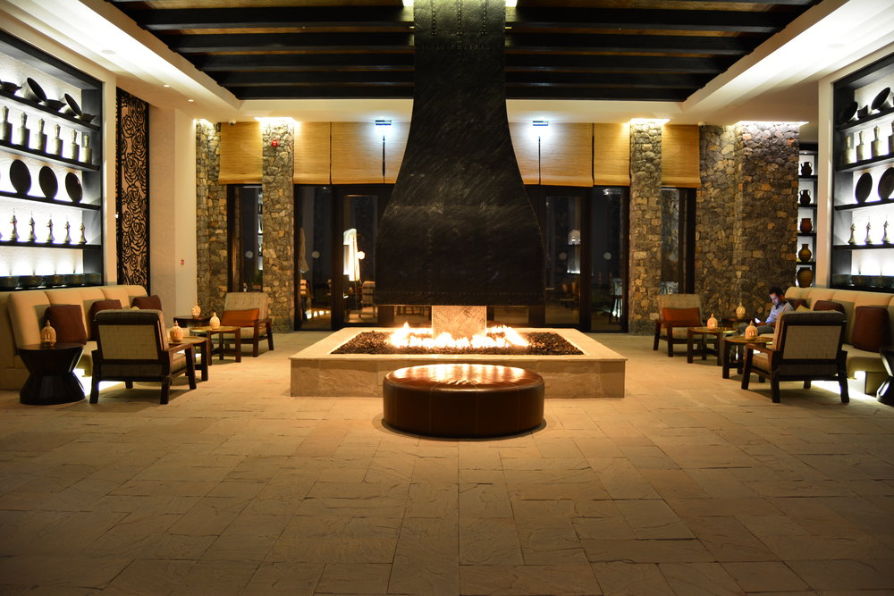 Lobby (Alila Jabal Akhdar)