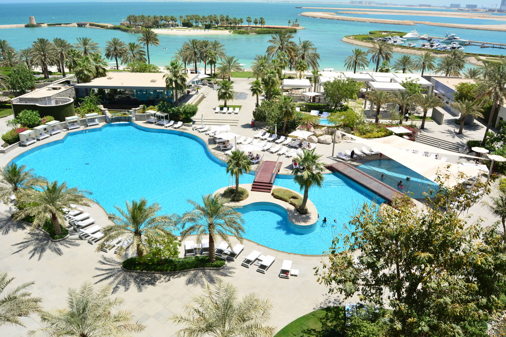 View from Club Lounge (The Ritz-Carlton, Bahrain)
