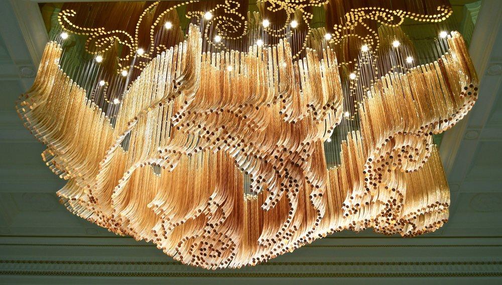 3,000 kg Bohemia Crystal Chandelier (Palazzo Versace Dubai)