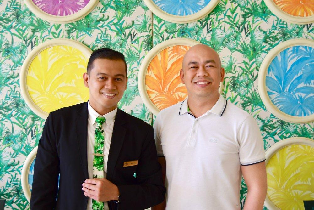 Giardino Manager, Manny Esquivel (Palazzo Versace Dubai)