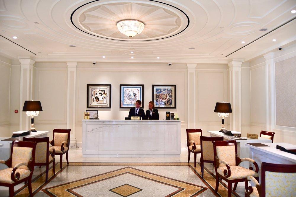 Reception Area (Palazzo Versace Dubai)