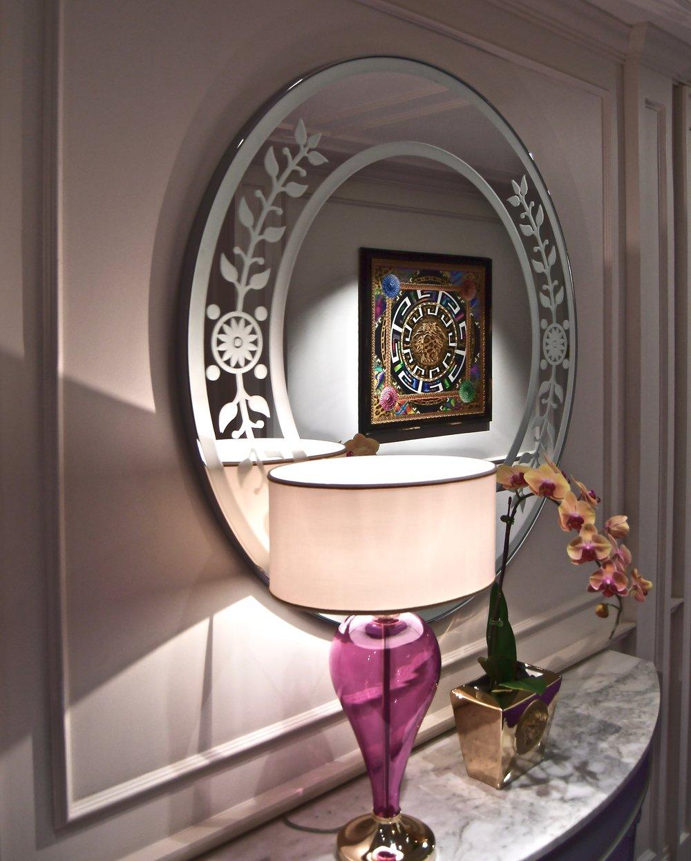 Hallway Decor (Palazzo Versace Dubai)
