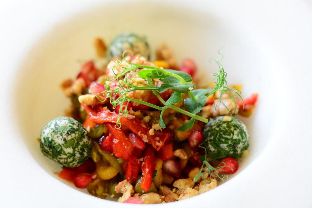 Enigma - Char-Grilled Capsicum Salad (Palazzo Versace Dubai)