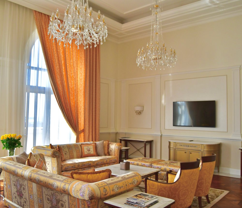 Signature Suite - Living Room (Palazzo Versace Dubai)