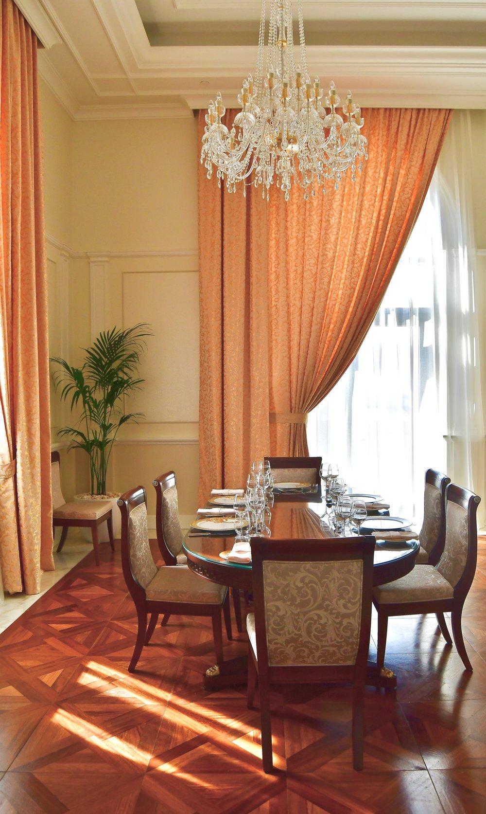 Signature Suite - Dining Room (Palazzo Versace Dubai)