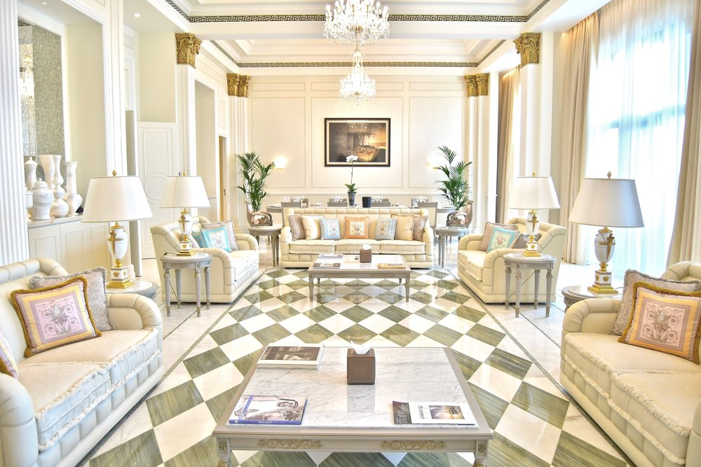 Imprerial Suite - Living Room (Palazzo Versace Dubai)