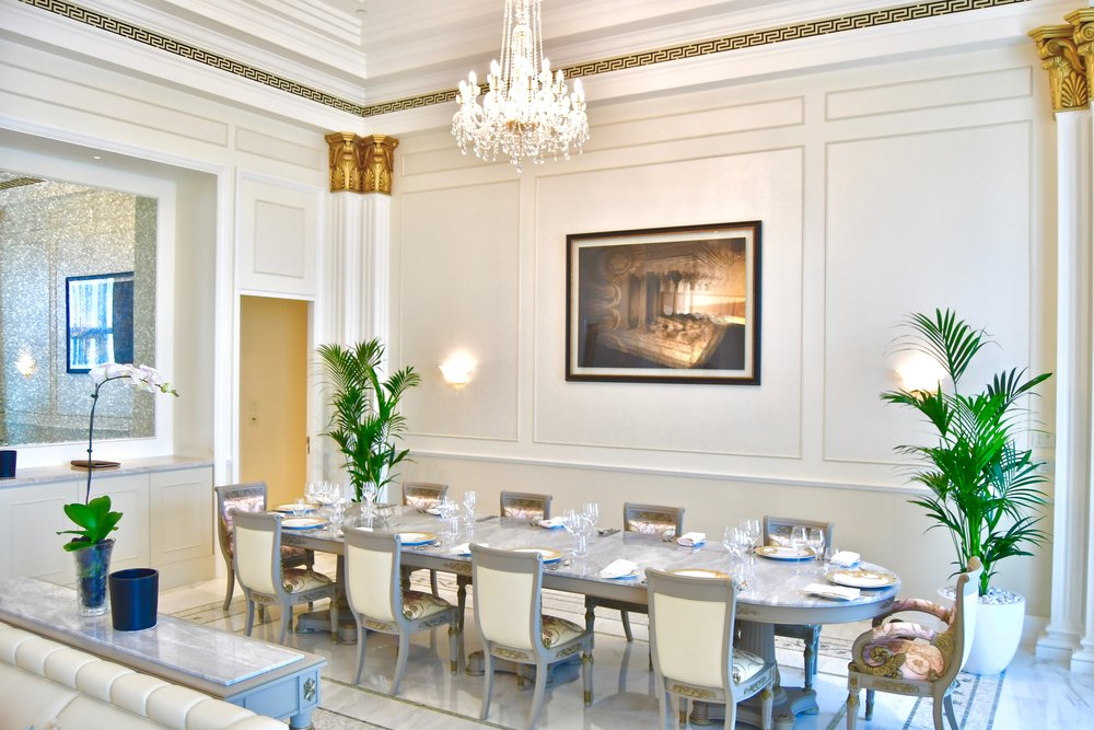 Imperial Suite - Dining Room (Palazzo Versace Dubai)