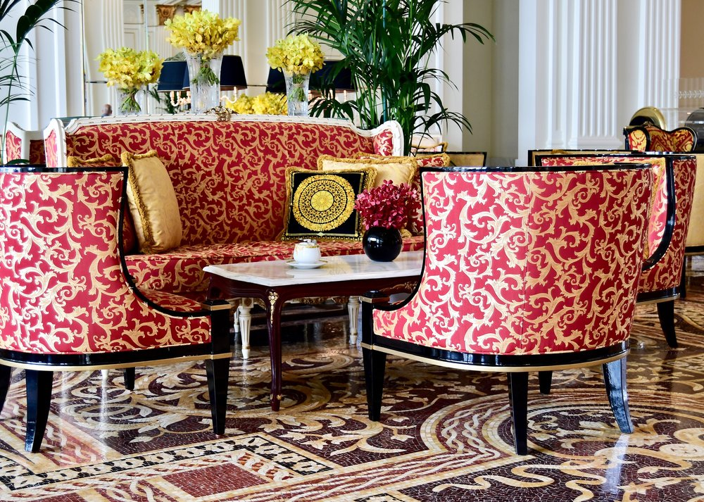 Mosaico Lounge (Palazzo Versace Dubai)