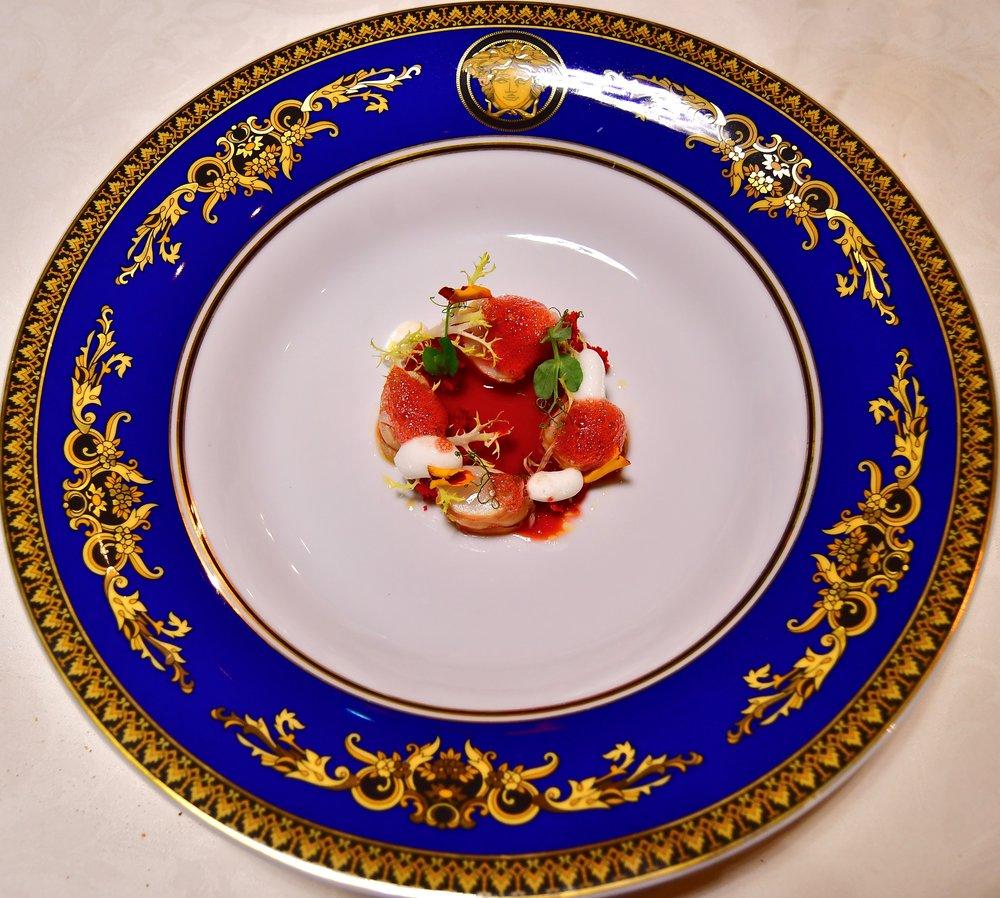 Vanitas - Mazancolle e Zuppa Fredda di Ciliege (Palazzo Versace Dubai)