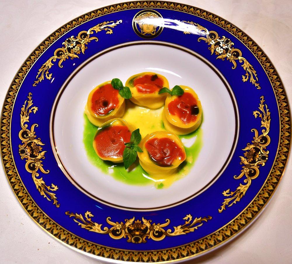 Vanitas - Tortelli di Ricotta (Palazzo Versace Dubai)