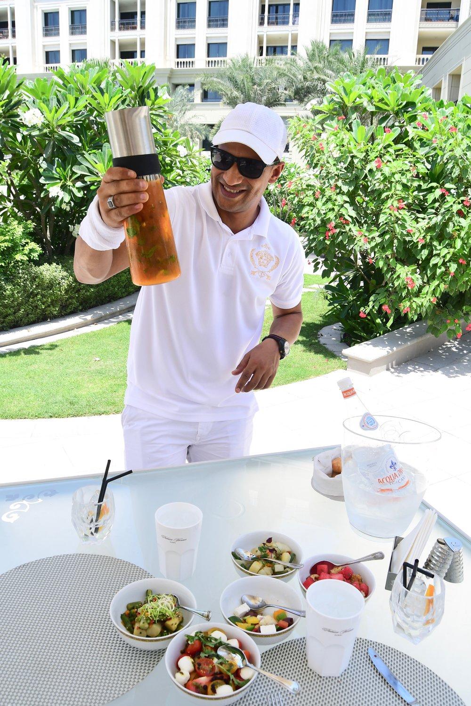 Amalfi Restaurant Manager Abdel (Palazzo Versace Dubai)