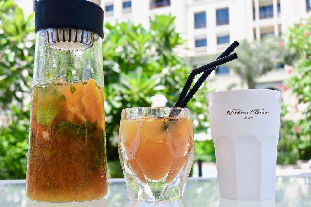 Amalfi - Levanto Iced Tea (Palazzo Versace Dubai)