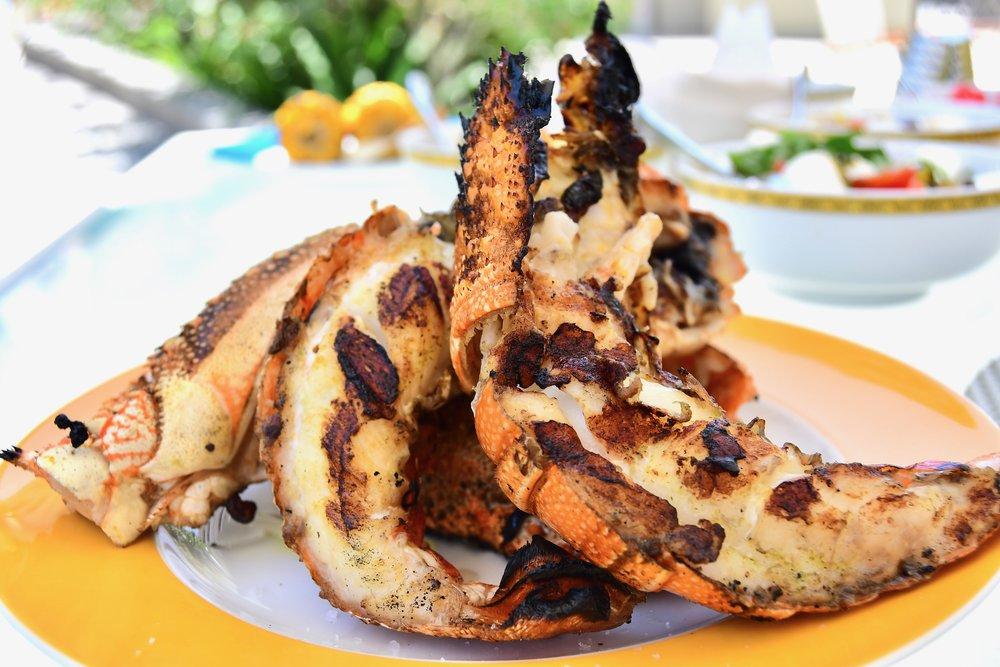 Amalfi - Grilled Lobsters (Palazzo Versace Dubai)