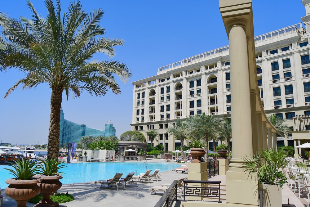 Main Swimming Pool (Palazzo Versace Dubai)