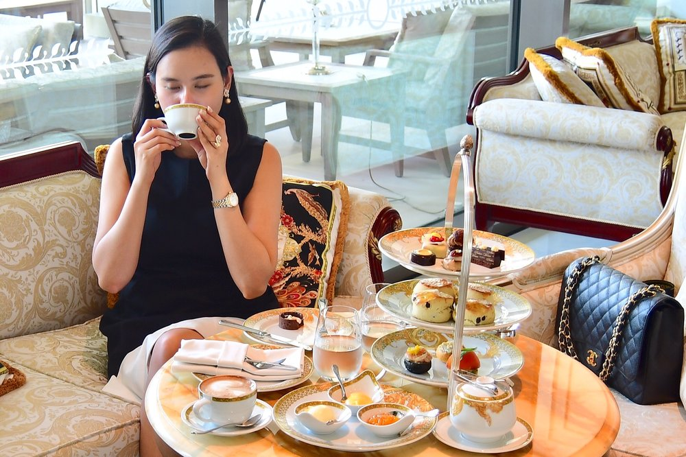 Mosaico Lounge - Afternoon Tea (Palazzo Versace Dubai)