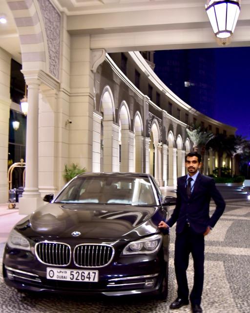 Mr. Zimir, our chauffeur (Palazzo Versace Dubai)