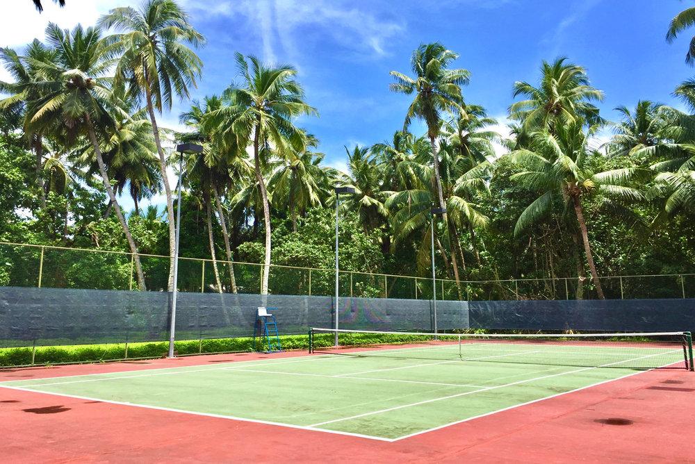 Tennis Court (Shangri-La Maldives)