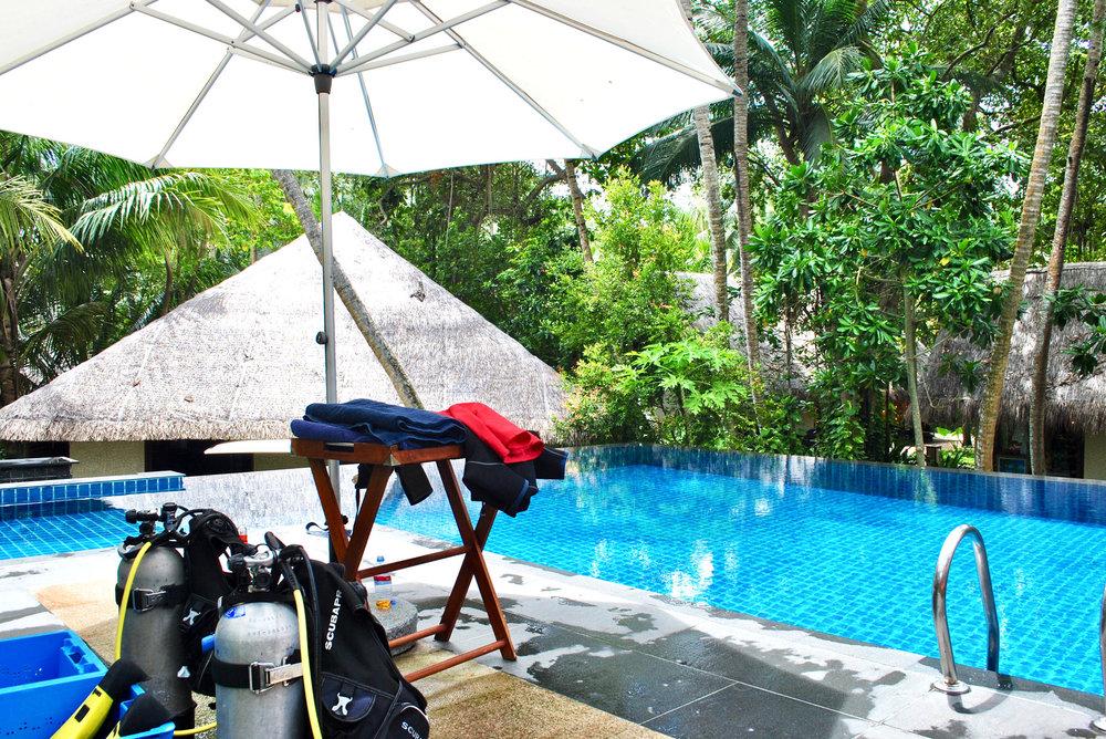 Diving Pool (Shangri-La Maldives)