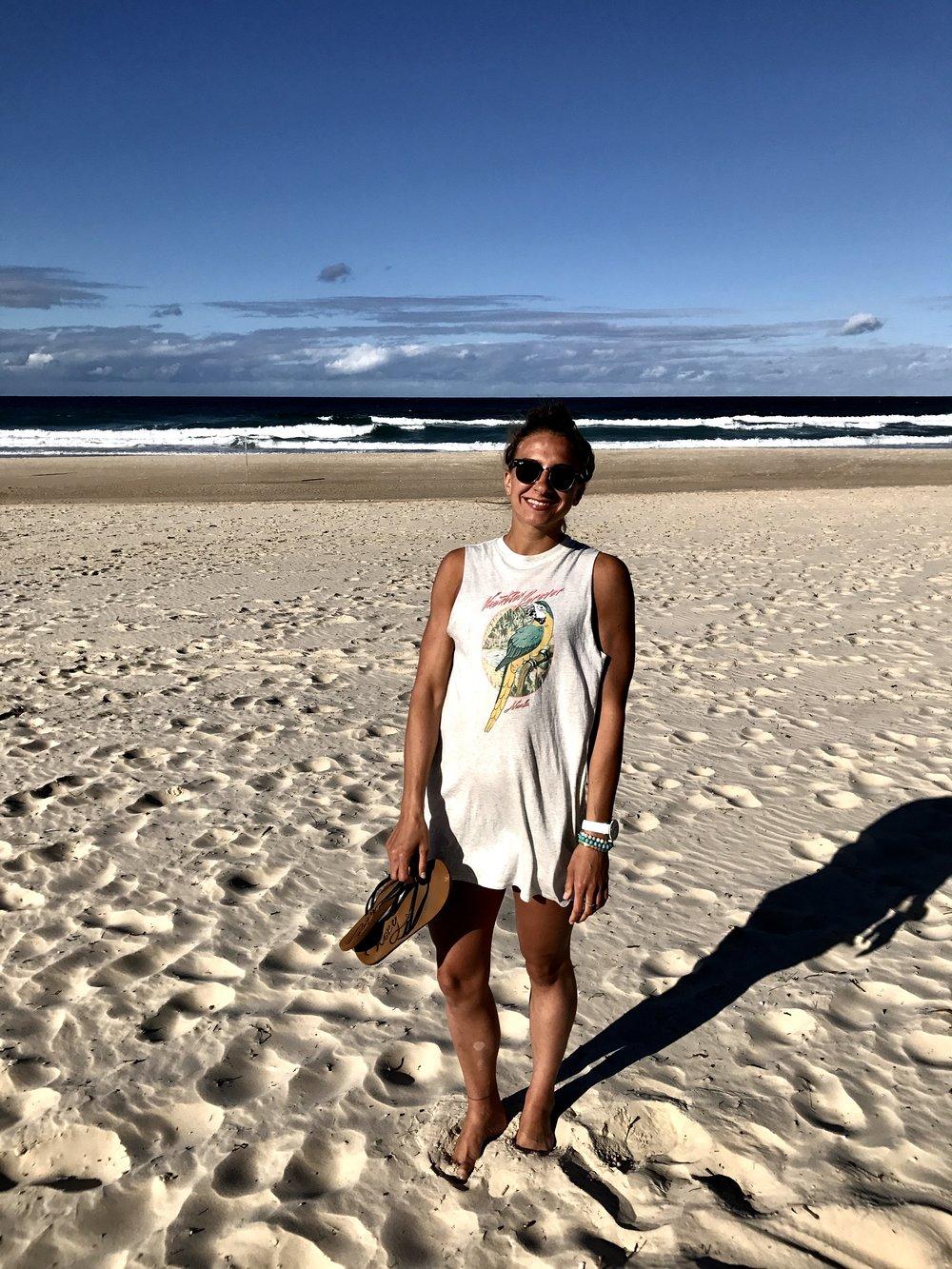 Odpoledne na pláži.. už taková klasika. :)