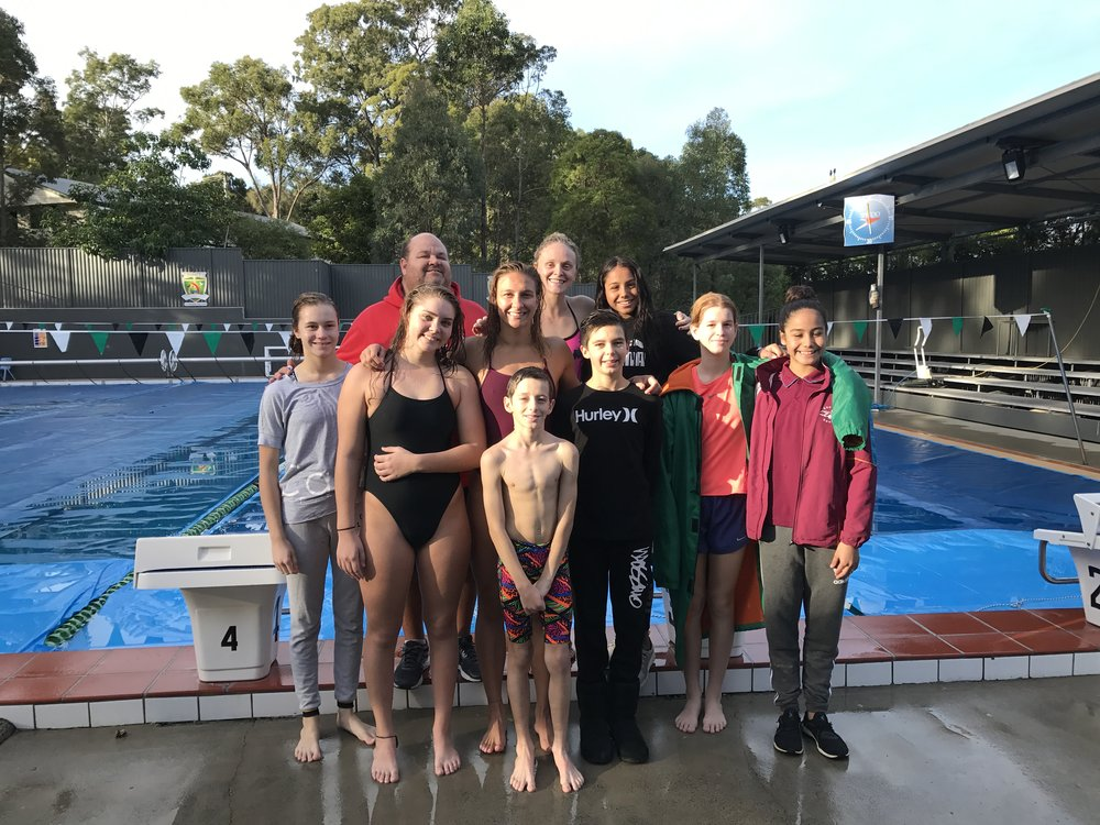 Trinity Lutheran College - swimming team