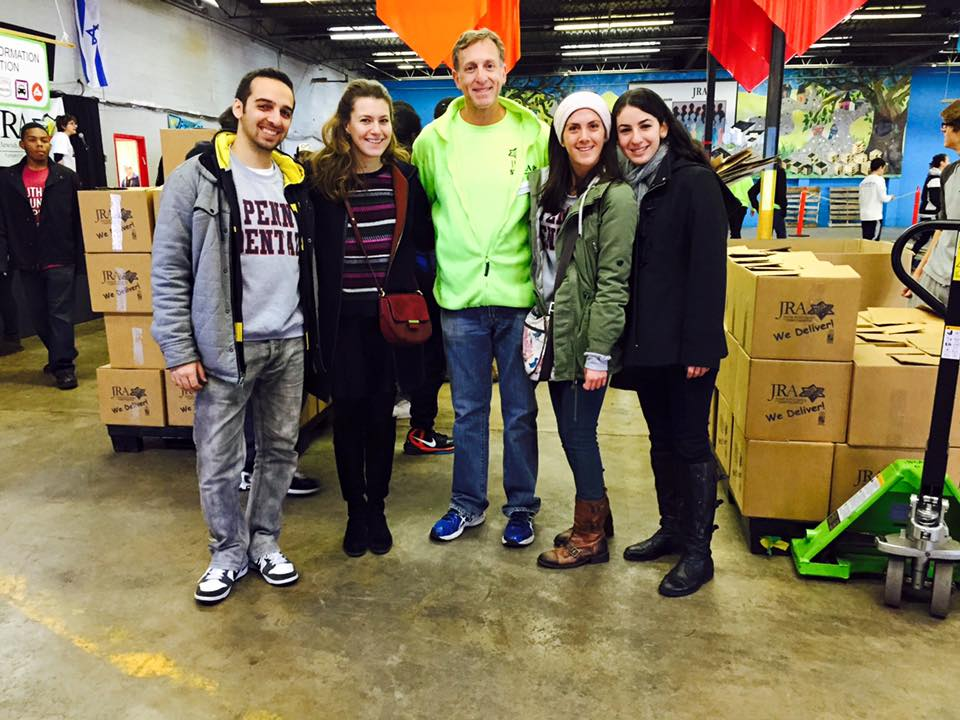 Volunteering at the Jewish Relief Agency