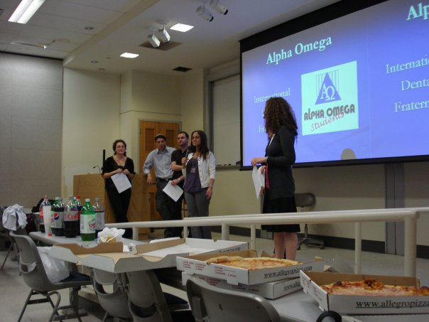 Teaching first year students about Alpha Omega