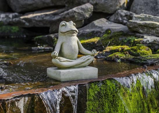 """Mini Zen Frog - 7.5"""" x 5"""" x 9"""""""
