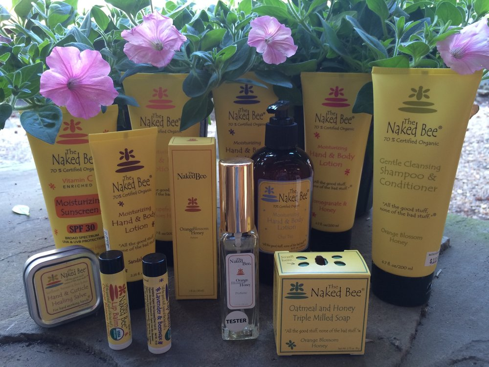 Naked Bee Products - 'All the good stuff, none of the bad!'