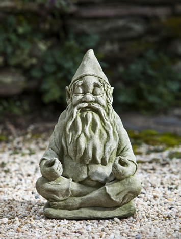 Big Fred - Garden Zen Gnome - for your Tranquil Valentine