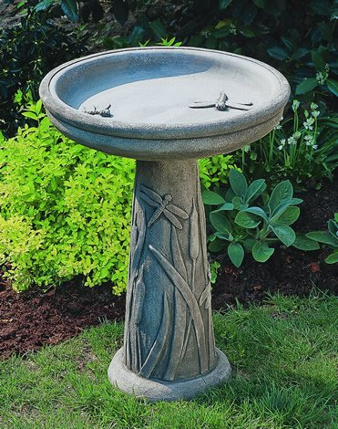 Campania Bird Baths for your Back Yard Birding Valentine