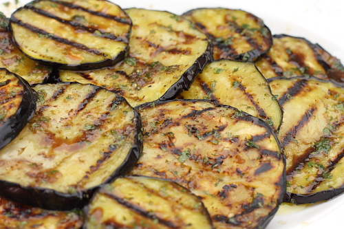 Melanzane arrostite (Marinated Grilled Eggplant with ...