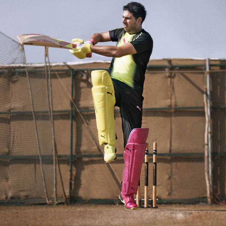 Yuvraj Singh models the new bold new PUMA Tricks collection.
