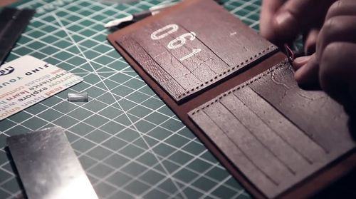 How To Make A Leather Wallet Inspire To Make - Leather wallet template