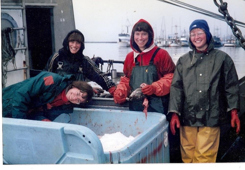 Fishermen Rebecca Poulson, Linda Behnken, Nancy Behnken, Laura Schmidt.jpg