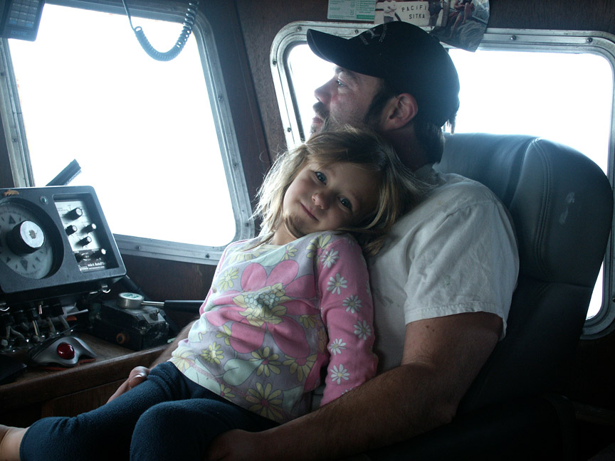 Skipper Jason Gjertsen and daughter Grace. ej.jpg