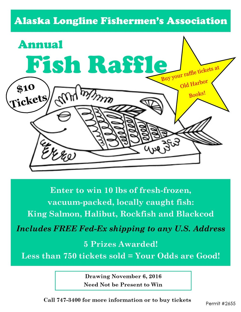 don t forget annual fish raffle tickets are on sale now alaska