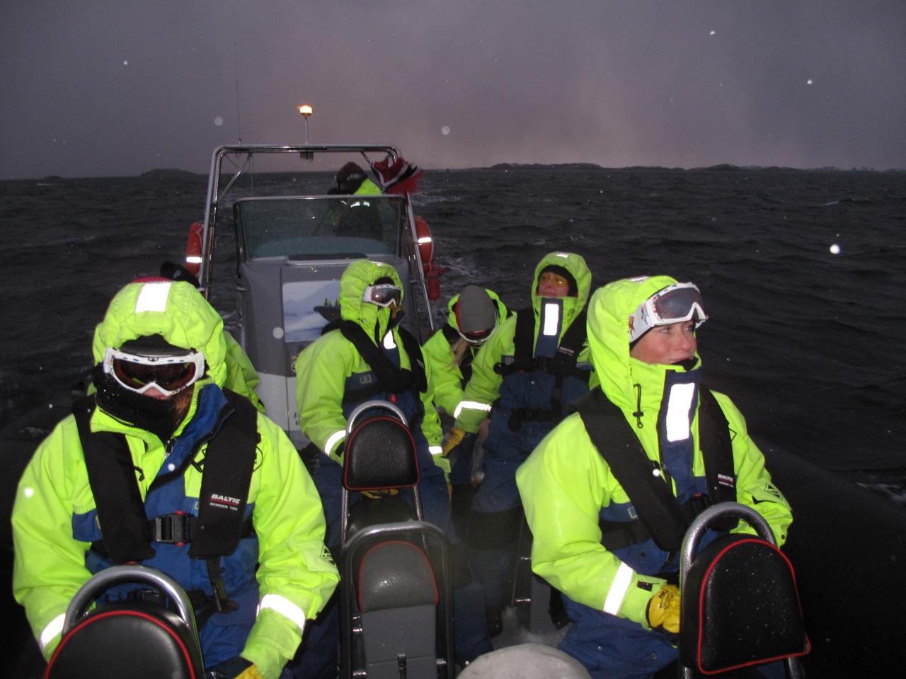 Få fart på båten.  Foto: Odd Roar Lange
