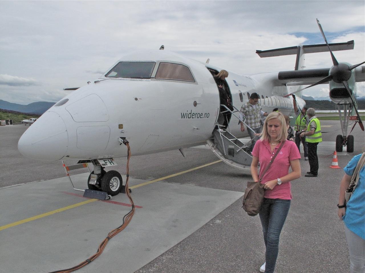 God tur - på din neste flyreise. Bilde: Odd Roar Lange