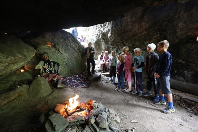 Turer for barn på Fjellfestivalen. Foto Odd Roar Lange