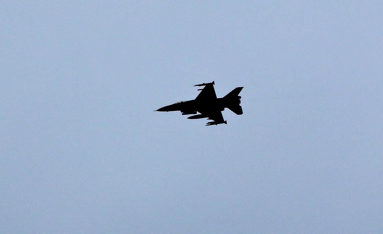Luftforsvaret trener over Oppdal