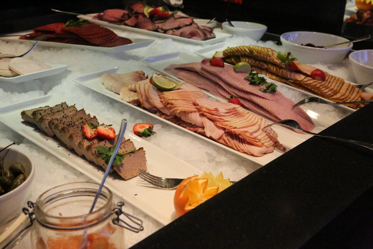 Frokostbuffeten på Skifer Hotel Oppdal