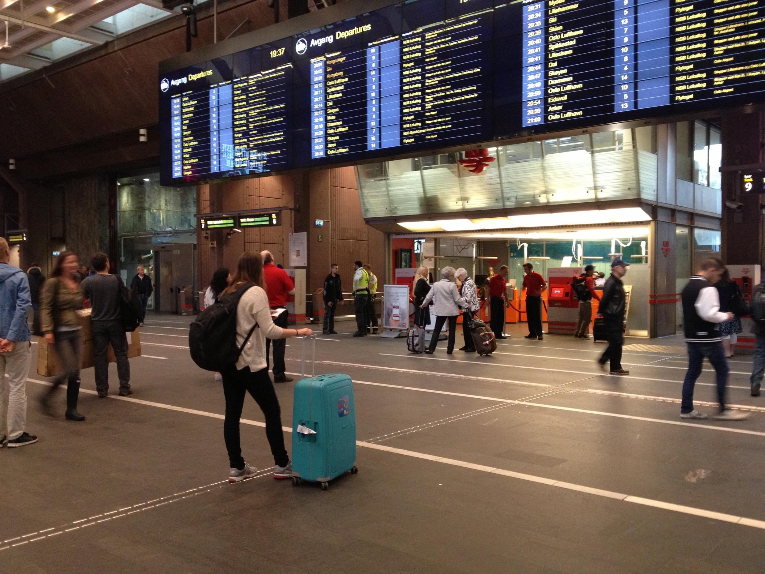 Pas på lommeboka di på Oslo S. Men, tro også på gode mennesker. Foto: Odd Roar Lange