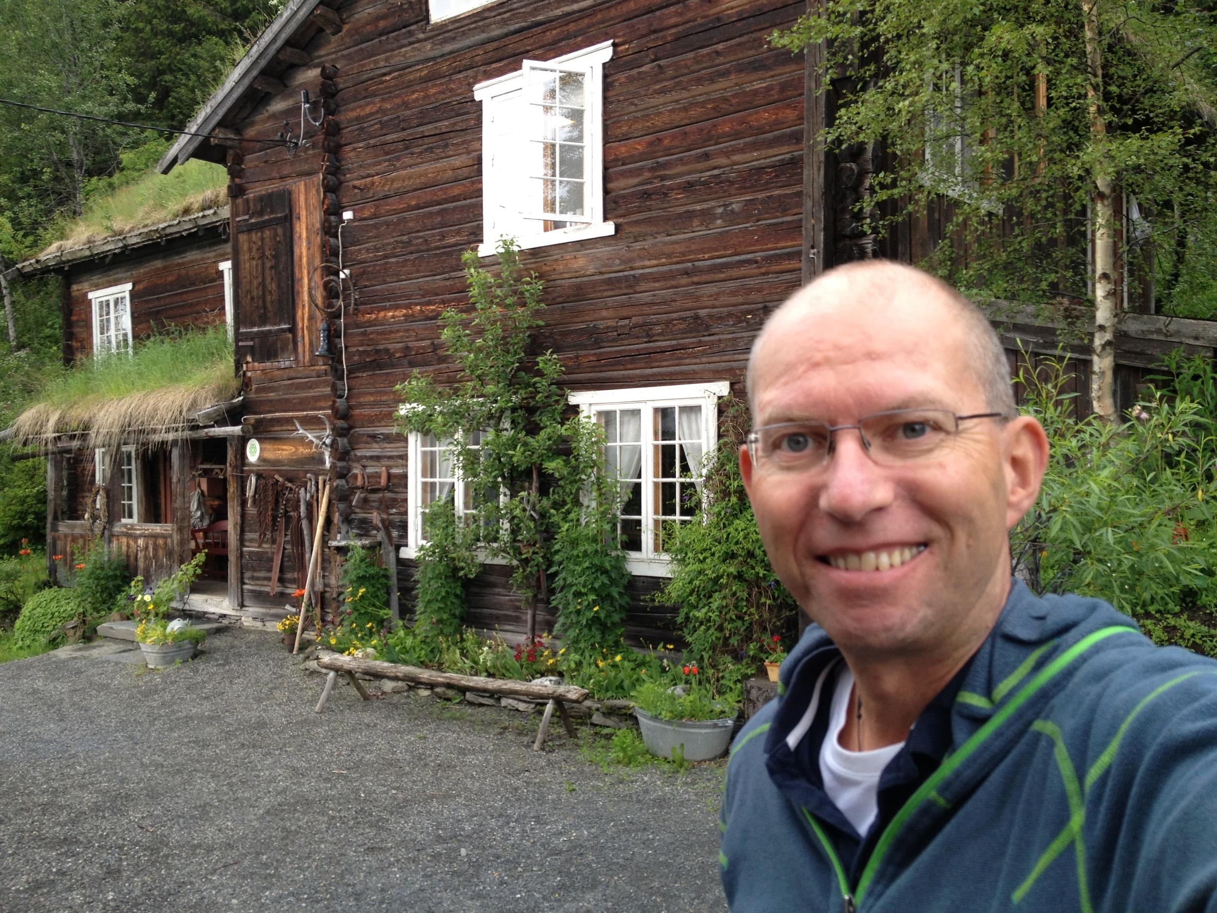 Kulturstua i Ro ligger  Gausdal, vest for Lillehammer.