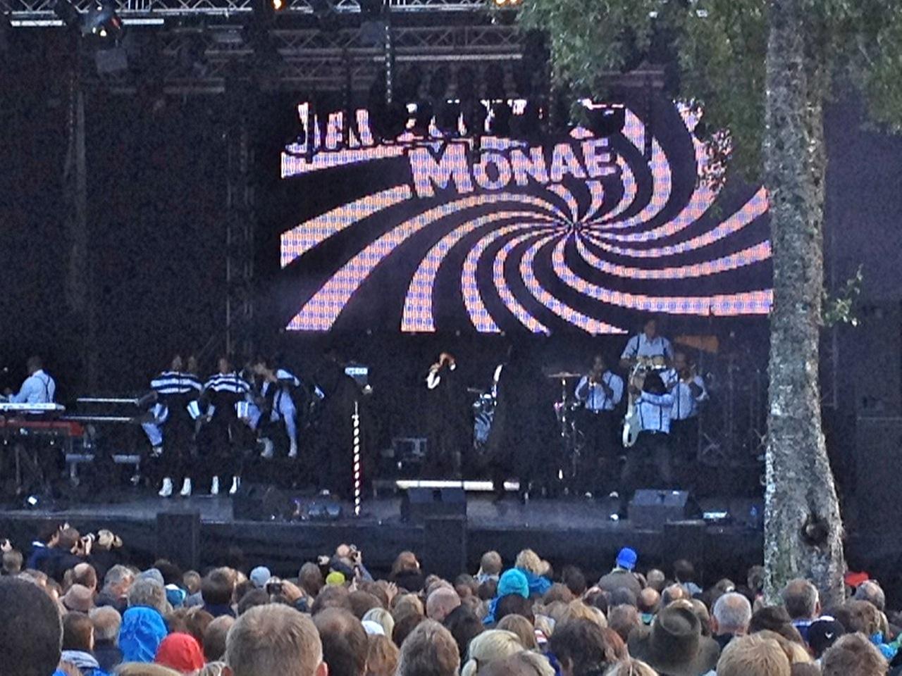 Janelle Monàe-konserten i Molde ble ingen publikumssuksess.