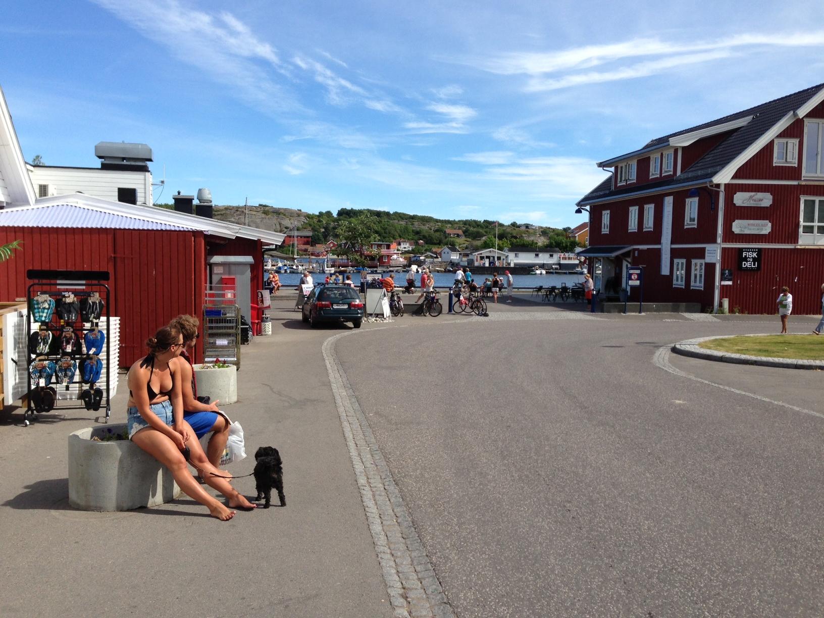 Sommerstemning ved Sandøsund