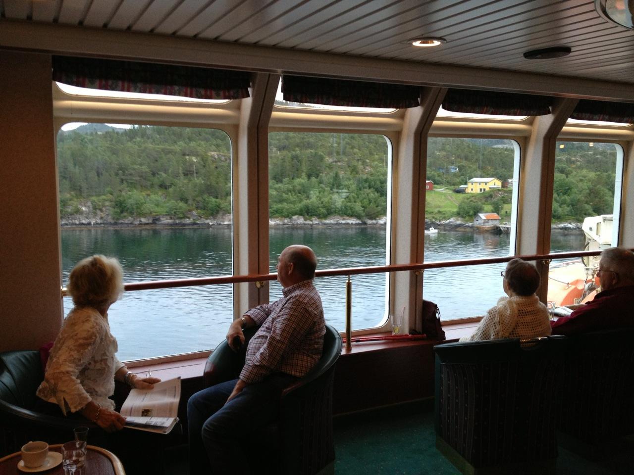 Norge - slik Hurtigrutens turister kan oppleve det. Foto: Odd Roar Lange