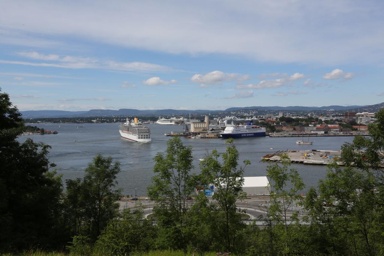 Oslo - en sommerdag. Foto: Odd Roar Lange